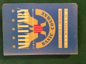 Military Basic Course Book by Captain Frank Cruikshank, 1940