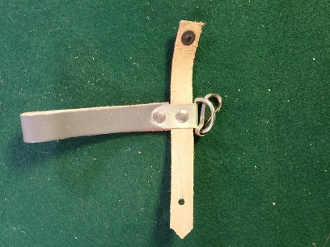 NOS East German Leather Bayonet Hanger