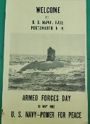 US Naval Base Portsmouth NH, Armed Forces Day, May 19, 1962