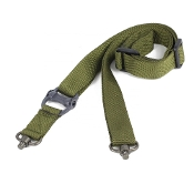 Tactical 1- or 2-point QD Swivel Sling - Green